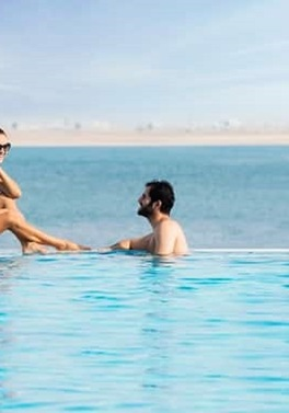 Just the two of you! All Inclusive summer bliss at the DoubleTree Marjan Island