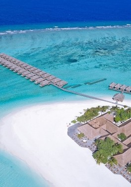 Two weeks of escapism in a jacuzzi beach villa in the Maldives
