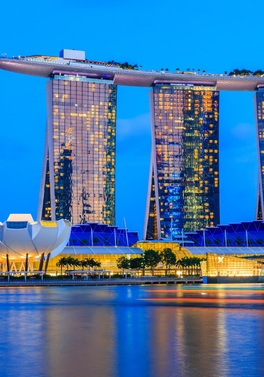 Marina Bay Sands Singapore and Guided Tour of New Zealand!