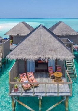 Club Room benefits in Dubai and Jacuzzi Water Villa in the Maldives